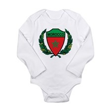Stylized Morocco Long Sleeve Infant Bodysuit