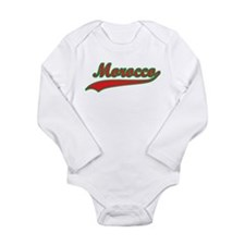 Retro Morocco Long Sleeve Infant Bodysuit