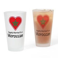 Happily Married Moroccan Pint Glass