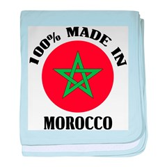 Made In Morocco baby blanket