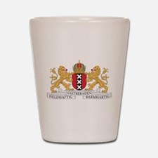 Amsterdam Coat Of Arms Shot Glass