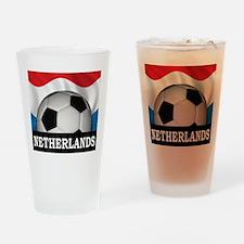 Football Netherlands Pint Glass