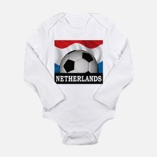 Football Netherlands Long Sleeve Infant Bodysuit