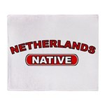 Netherlands Native Throw Blanket