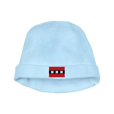 Amsterdam Flag baby hat