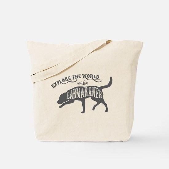 Labmaraner Explore Tote Bag