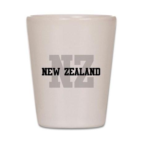 NZ New Zealand Shot Glass by oneworldgear