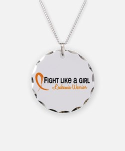 Licensed Fight Like a Girl 6 Necklace