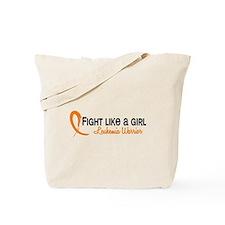 Licensed Fight Like a Girl 6.4 Leukemia Tote Bag
