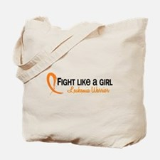 Licensed Fight Like a Girl 6.4 Leukemia Tote Bag
