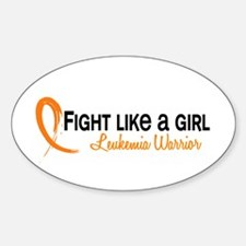 Licensed Fight Like a Girl 6.4 Leuk Decal
