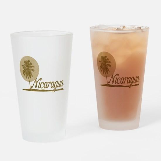 Palm Tree Nicaragua Pint Glass