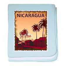 Vintage Nicaragua baby blanket