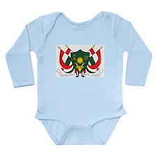 Niger Coat Of Arms Long Sleeve Infant Bodysuit