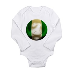 Nigeria World Cup Long Sleeve Infant Bodysuit