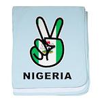 Nigeria Peace baby blanket