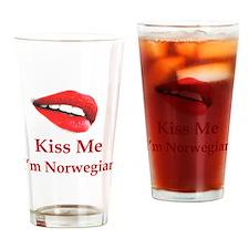 Kiss Norwegian Pint Glass