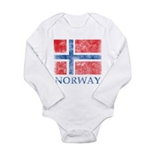 Vintage Norway Long Sleeve Infant Bodysuit