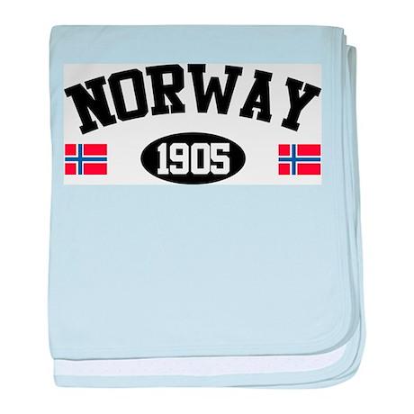 Norway 1905 baby blanket