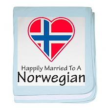 Happily Married Norwegian baby blanket