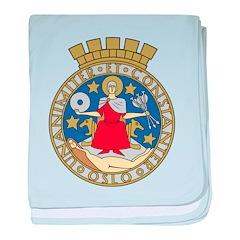 Oslo Coat Of Arms baby blanket