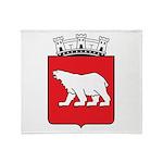 Hammerfest Coat Of Arms Throw Blanket