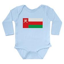 Oman Long Sleeve Infant Bodysuit