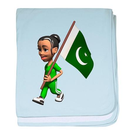 3D Pakistan baby blanket