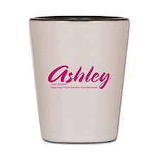 Personalized Ashley Shot Glass