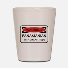 Attitude Panamanian Shot Glass