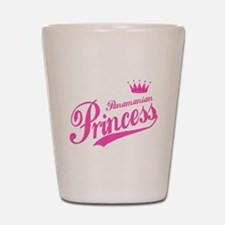 Panamanian Princess Shot Glass