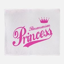 Panamanian Princess Throw Blanket