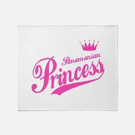 Panamanian Princess Throw Blanket