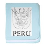Vintage Peru baby blanket
