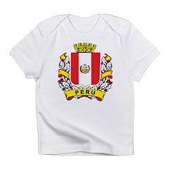 Stylish Peru Crest Infant T-Shirt