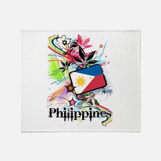 Philippines Throw Blanket