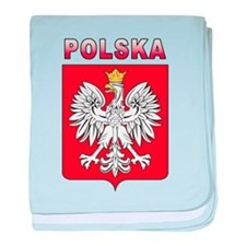 Polska baby blanket