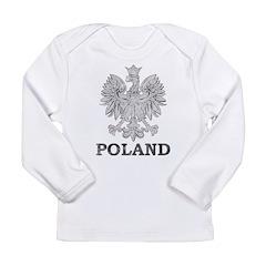 Vintage Poland Long Sleeve Infant T-Shirt