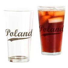 Vintage Poland Pint Glass