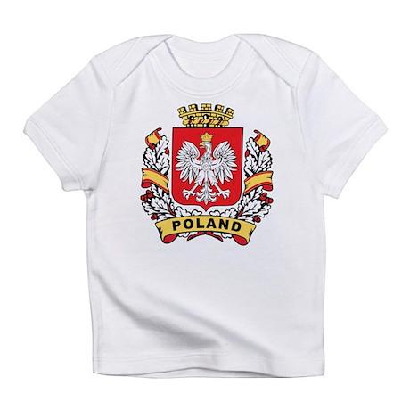 Stylish Poland Crest Infant T-Shirt