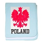 Vintage Poland baby blanket