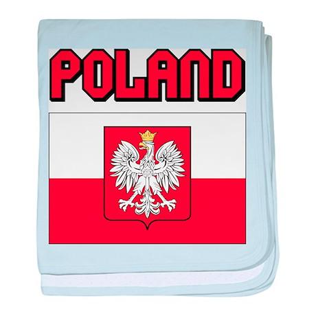 Poland baby blanket