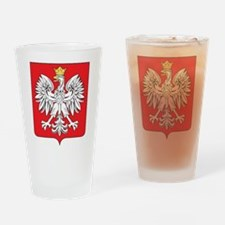 Poland Coat Of Arms Pint Glass
