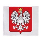 Poland Fleece Blankets