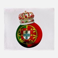 Portugal Football Champion Throw Blanket