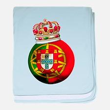 Portugal Football Champion baby blanket
