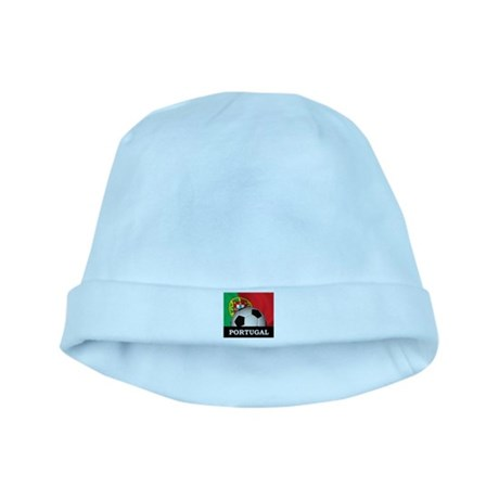Portugal Football baby hat