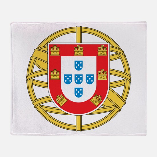 Portugal Coat Of arms Throw Blanket