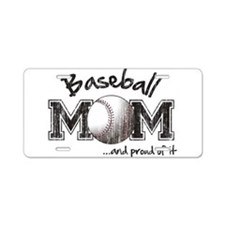 Cute Sports mom Aluminum License Plate