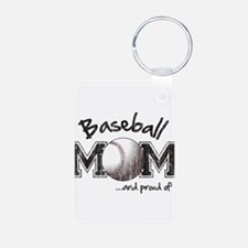 Cute Baseball mom Keychains